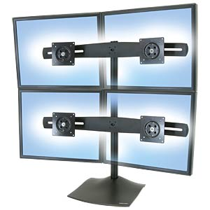Monitor Standfuß DS100, 4 Displays, bis 24 ERGOTRON 33-324-200