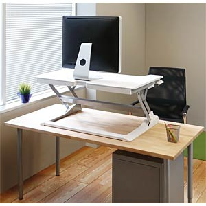 WorkFit-TL, Sitz-Steh-Schreibtisch-Arbeitsplatz ERGOTRON 33-406-062