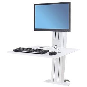 WorkFit-SR, 1 Monitor, Sitz-Steh-Schreibtisch ERGOTRON 33-415-062