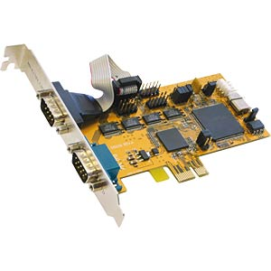 4S Serielle RS-232 PCI-Express Karte EXSYS EX-44094-2