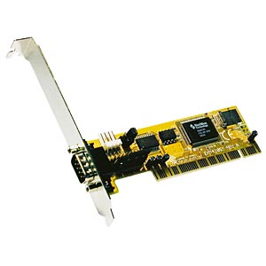 1 Port RS232, serielle, PCI Karte EXSYS EX-41051