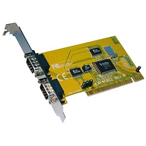 2 Port RS232, seriell, PCI Karte, 32 Bit EXSYS EX-41052