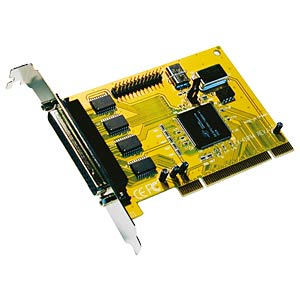 Exsys 4 serial/1 parallel card 16C950 32-bit PCI EXSYS EX-41094