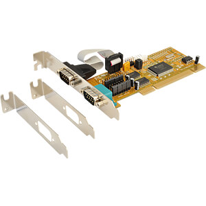 Exsys 2-port serial card RS-232 32-bit PCI EXSYS EX-41052