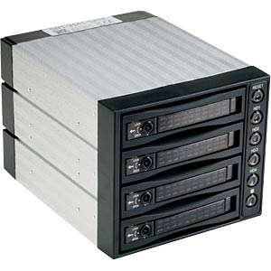 SATA 3x13,34cm(5,25) oder 4x 8,9cm(3,5) HDD FANTEC SNT-BA3141-1