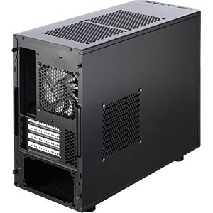 Fractal Design Mini-Tower Core 1500, schwarz FRACTAL DESIGN FD-CA-CORE-1500-BL
