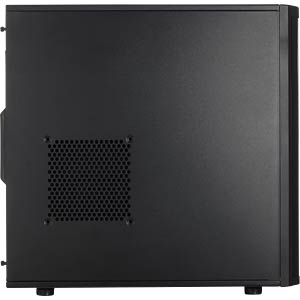 Fractal Design Midi-Tower Core 2500, schwarz FRACTAL DESIGN FD-CA-CORE-2500-BL