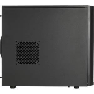 Fractal Design Midi-Tower Core 2500, schwarz FRACTAL DESIGN FD-CA-CORE-3300-BL