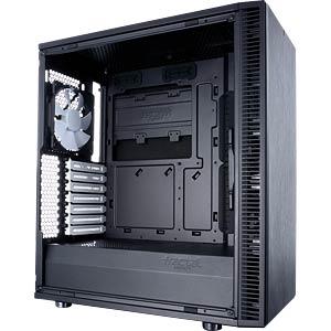 Fractal Design Midi-Tower Define C, Sichtfenster FRACTAL DESIGN FD-CA-DEF-C-BK-W
