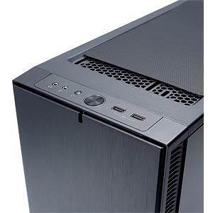 Fractal Design Midi-Tower Define C, schwarz FRACTAL DESIGN FD-CA-DEF-C-BK