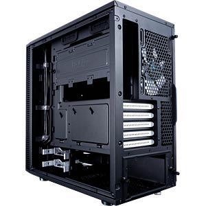 Fractal Design Mini-Tower Define C, schwarz FRACTAL DESIGN FD-CA-DEF-MINI-C-BK