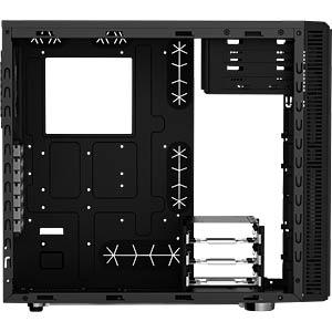 Fractal Design Midi-Tower Define R4 Black Pearl, Sichtfenster FRACTAL DESIGN FD-CA-DEF-R4-BL-W