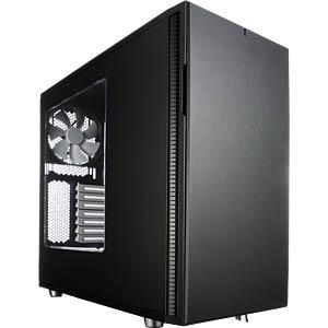 Fractal Design Midi-Tower Define R5, schwarz, Sichtfenster FRACTAL DESIGN FD-CA-DEF-R5-BK-W