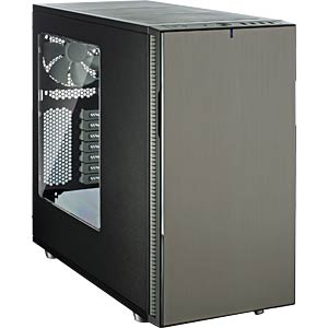 Fractal Design Midi-Tower Define R5 Titanium, Sichtfenster FRACTAL DESIGN FD-CA-DEF-R5-TI-W