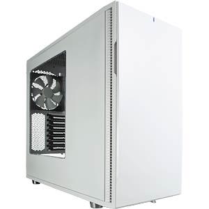 Fractal Design Midi-Tower Define R5 weiß, Sichtfenster FRACTAL DESIGN FD-CA-DEF-R5-WT-W
