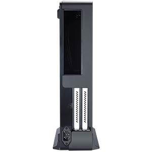 Fractal Design Mini-Tower Node 202, schwarz FRACTAL DESIGN FD-CA-NODE-202-BK