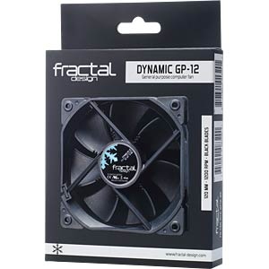 Fractal Design Gehäuselüfter Dynamic GP-14, 140 mm FRACTAL DESIGN FD-FAN-DYN-GP14-BK