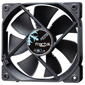 Fractal Design Gehäuselüfter Dynamic X2 GP-12, 120 mm FRACTAL DESIGN FD-FAN-DYN-X2-GP12-BK
