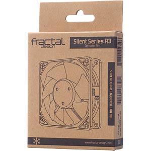 Fractal Design Gehäuselüfter Silent R3, 80 mm FRACTAL DESIGN FD-FAN-SSR3-80-WT