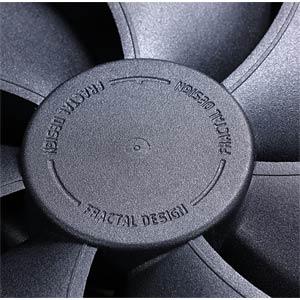Fractal Design Gehäuselüfter Venturi HP-12 PWM, 120 mm FRACTAL DESIGN FD-FAN-VENT-HP12-PWM-BK