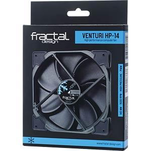 Fractal Design Gehäuselüfter Venturi HP-14 PWM, 140 mm FRACTAL DESIGN FD-FAN-VENT-HP14-PWM-BK