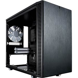 Fractal Design Mini-Tower Define Nano S, schwarz FRACTAL DESIGN FD-CA-DEF-NANO-S-BK