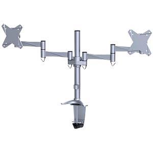 Monitor Halter, 2 Displays, Tischmontage NEWSTAR FPMA-D1330DSILVER