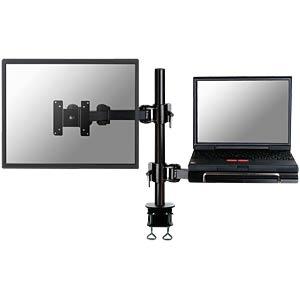 Monitor Halter, 1 Display und 1 Notebook, Tischmontage NEWSTAR FPMA-D960NOTEBOOK
