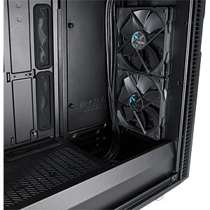 Fractal Design Midi Tower Define 6 blackout, Sichtfenster FRACTAL DESIGN FD-CA-DEF-R6-BKO-TG
