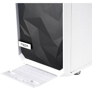 Fractal Design Midi Tower Meshify S2 White TG Glass Clear FRACTAL DESIGN FD-CA-MESH-S2-WT-TGC