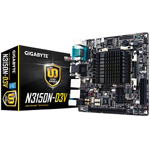 Mini-ITX motherboard with Intel Celeron N3150 GIGABYTE GA-N3150N-D3V