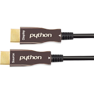 AOC Hybrid HDMI® 2.0-kabel, zwart, 20m PYTHON GC-M0246