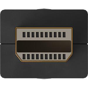 Mini DisplayPort/HDMI Adapterkabel 1.2, 0,2 m GOOBAY 49111