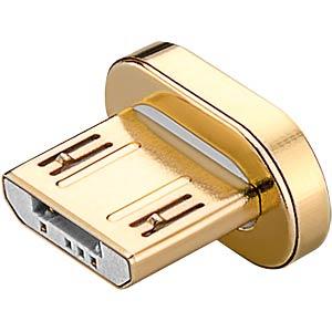 Magnetischer Micro USB Ersatzstecker GOOBAY 77550