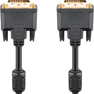 5,0 m DVI-D Kabel 24+1 polig DUAL LINK 5m