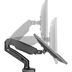 Monitorständer Tischhalterung für 1 Monitor bis 27 (68 cm) ICYBOX 60469