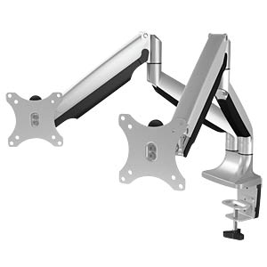 Monitor stand with table support for two monitors ICYBOX 60181