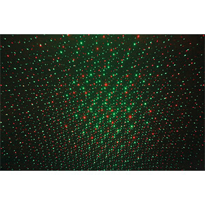 Mini-Laser-Effektgerät IMG STAGE LINE LSE-12RG