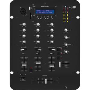 Stereo-DJ-Mischpult, integrierter MP3-Spieler IMG STAGE LINE MPX-30DMP