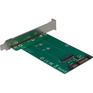 Trägerkarte für M2 SATA Festplatte/SSD INTER-TECH 88885369