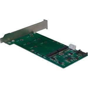 IT88885377 - Trägerkarte für 2x M2 SATA HDD/SSD