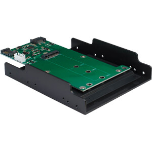 IT88885380 - Trägerrahmen für M2 SATA Festplatte/SSD + Eingang