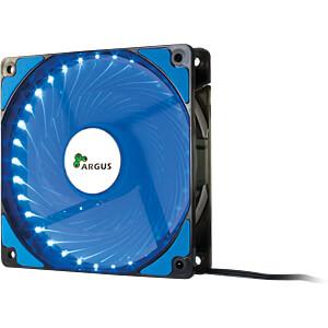 Inter-Tech Argus Gehäuselüfter, 120 mm, LED blau INTER-TECH 88885412
