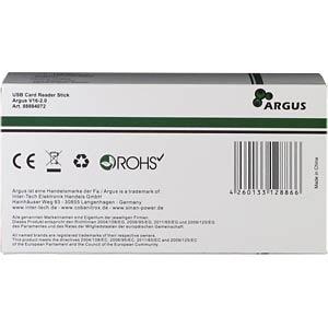 USB 2.0 kaartlezer voor SD/SDHC/SDXC-kaarten INTER-TECH 88884072