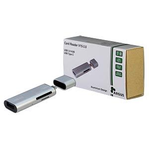 USB C Stecker auf A Buchse mit Cardreader INTER-TECH 88884073