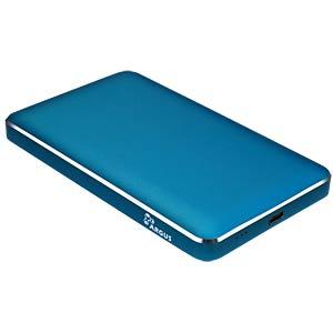 externes 2.5 SATA HDD/SSD Gehäuse, USB 3.0 C, blau INTER-TECH 88884077