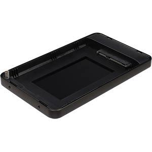 externes 2.5 SATA HDD/SSD Gehäuse, USB 3.0 C, schwarz INTER-TECH 8884079