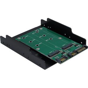 IT88885372-2 - Trägerrahmen 2x M.2 SATA SSD