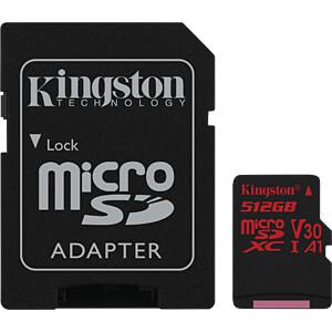 MicroSDXC-Speicherkarte 512GB, Canvas React KINGSTON SDCR/512GB