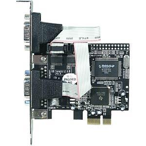 Longshine PCI Express X1 - 2 x serial LONGSHINE LCS-6321O